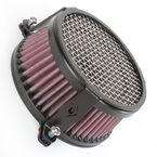 Black Plain Air Cleaner - 06-0119-03B