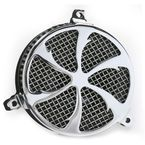 Chrome Swept Air Cleaner - 06-0133-01