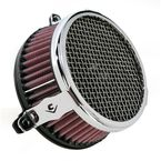 Chrome Plain Air Cleaner - 06-0133-03