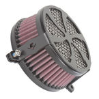 Black Swept Air Cleaner - 06-024501B