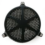 Black Spoke Air Cleaner - 06-027004B