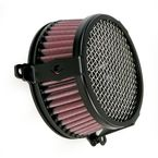 Black Plain Air Cleaner - 06-0467-03B