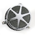 Chrome Spoke Air Cleaner - 06-0467-04