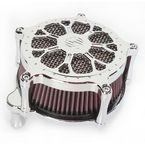 Chrome Venturi Delmar Air Cleaner - 0206-2096-CH