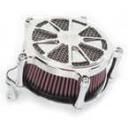 Chrome Venturi Raider Air Cleaner - 0206-2097-CH