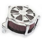 Chrome Venturi Raider Air Cleaner - 0206-2098-CH