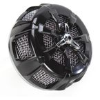 Black/Chrome Alley Cat Air Cleaner Kit - 9517