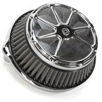 Artistic Chrome Fusion Air Cleaner - LA-F200-00