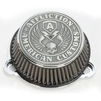 Chrome Affliction Air Cleaner - LA-2990-01