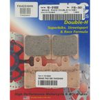 Double H Sintered Metal Brake Pad - FA423/4HH