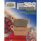 Double H Sintered Metal Brake Pads - FA436HH