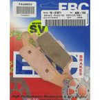 SV Severe Duty Sintered Metal Brake Pads - FA446SV