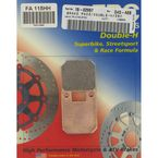 Race Sintered Metal MXS Brake Pads - FA115HH