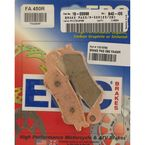 Long-life Sintered R-Series Brake Pads - FA450R