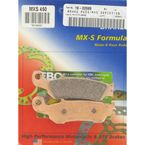 Race Sintered Metal MXS Brake Pads - MXS450