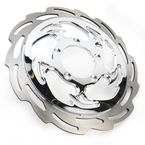 Front Right Chrome Savage Floating Two-Piece Brake Rotor - ZSSGSXRRF-85