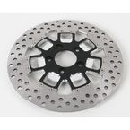Front 11.5 in. Slam Two-Piece Contrast-Cut Brake Rotor - 01331522SLMSSBM