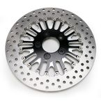 Front 11.5 in. Boss Two-Piece Contrast-Cut Brake Rotor - 01331522BSSLSBM