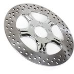 11.8 in. Wrath Chrome Two-Piece Brake Rotor - 01331800WRASCH