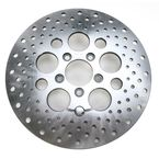 Rear 11.5 in. Stainless Steel Drilled Brake Rotor - 1710-1905