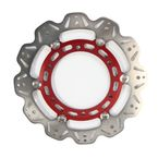 Front Red Vee Brake Rotor - VR2074RED