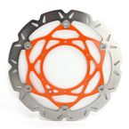 KTM SMX Carbon Look Brake Rotor Kit - SMX60ORG