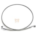 Natural XR Stainless Extreme Response Front Brake Line Kit w/o ABS - +6