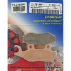 Double-H Sintered Metal Brake Pads - FA215/2HH