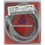 Stainless Universal Brake Line w/Chrome-Plated Ends - 80346