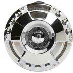 Chrome Deep Cut Billet Horn Kit - 70-215