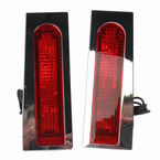 Chrome Fillerz LED Saddlebag Support Lights w/Red Lens - GEN-FDRS-RED