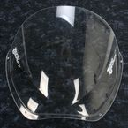 Clear Double Bubble Windscreen - 16-709-01