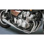 4-into-1 Chrome Megaphone Exhaust System - 001-2601