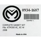 Complete Gasket Set without Oil Seals - 0934-1687