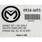 Complete Gasket Set with Oil Seals - 0934-1693