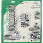 Polished Chrome Steel Socket Head Motor Bolt Kit - P-96-76