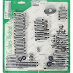 Polished Chrome Steel Socket Head Motor Bolt Kit - P-96-77