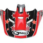 Black/Pink Visor for Youth GM46.2 Superstar Helmet - 72-3685