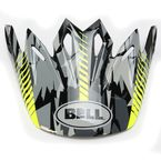 Black/Grey/Yellow Camo Visor for the Moto-9 Helmet - 7071333