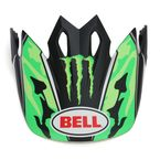 Green Camo/Black Monster Energy Pro Circuit Replica Visor for the MX-9 Helmet - 7071345