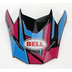 Blue/Pink Replacement Visor for the SX-1 Stack Helmet - 7071389