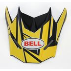 Charcoal/Yellow Replacement Visor for the SX-1 Stack Helmet - 7071390