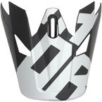 Visor for Black/White Sector Level Helmet  - 0132-1128