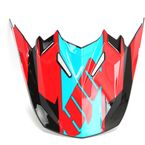 Red/Blue Visor for Youth CL-XY II Bator MC-1 Helmets - 294-919