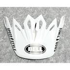 White/Black Visor for Moto-9 Mips Fasthouse Helmets - 7093242