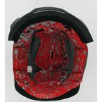 Red Helmet Liner for Icon Helmets - 0134-0788