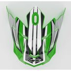 Green Multi Visor for AFX Helmets - 0132-0426