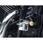 Chrome Universal Helmet Lock for 7/8