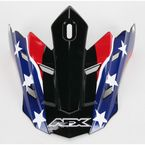 Rebel Black Visor for AFX Helmet - 0132-0524