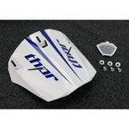 Blue/White Visor Kit for Force Livewire Helmets - 0132-0546